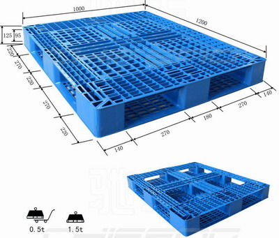 chinese plastic pallet