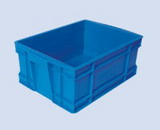 injection molded product for container